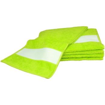 Home Handtuch und Waschlappen A&r Towels 30 cm x 140 cm Limettengrün