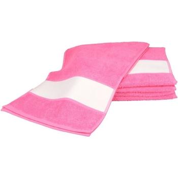 Home Handtuch und Waschlappen A&r Towels 30 cm x 140 cm Pink