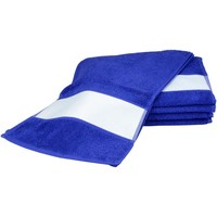 Home Handtuch und Waschlappen A&r Towels 30 cm x 140 cm Echt Blau