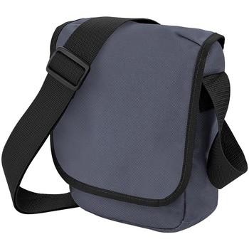 Taschen Jungen Schultasche Bagbase BG18 Graphit/Schwarz