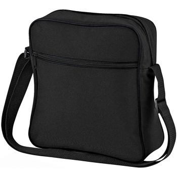 Taschen Jungen Schultasche Bagbase BG16 Schwarz/Dunkelgrau
