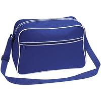 Taschen Jungen Schultasche Bagbase BG14 Royalblau/Weiß