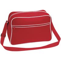 Taschen Jungen Schultasche Bagbase BG14 Rot/Weiß