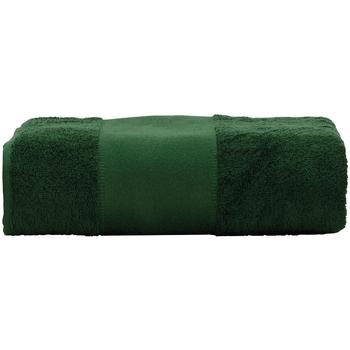 Home Handtuch und Waschlappen A&r Towels Taille unique Dunkelgrün