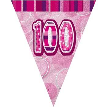Home Stickers Unique Party 274 cm Pink