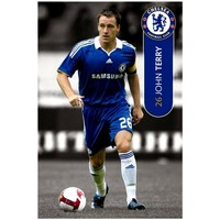 Home Plakate, Posters Chelsea Fc 91,5 x 61cm SG193 Bunt