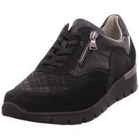 Schuhe Damen Sneaker Low Waldläufer  schwarz