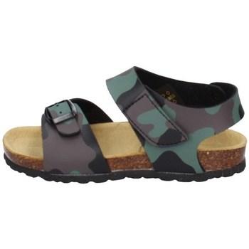Schuhe Jungen Sandalen / Sandaletten Evoca EJ604A Grün