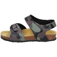 Schuhe Jungen Sandalen / Sandaletten Evoca EJ604B Grün