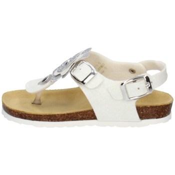 Schuhe Mädchen Sandalen / Sandaletten Evoca EJ110A Weiss
