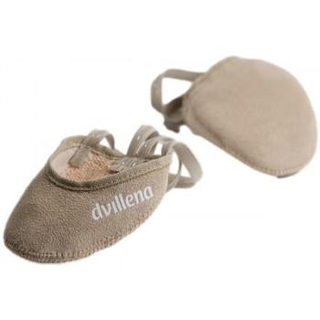 Schuhe Damen Indoorschuhe Dvillena PUNTERA GIMNASIA RITMICA AFRICA Beige