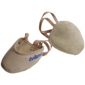 Schuhe Damen Indoorschuhe Dvillena PUNTERA GIMNASIA RITMICA BEIG Beige