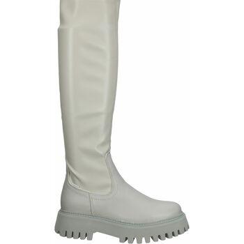 Schuhe Damen Kniestiefel Bronx Stiefel Military