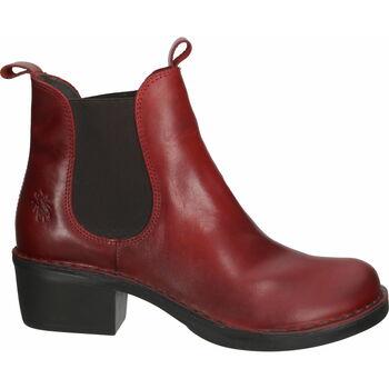 Schuhe Damen Low Boots Fly London Stiefelette Rot