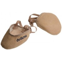 Schuhe Damen Indoorschuhe Dvillena PUNTERA GIMNASIA RITMICA COMPETICION SANDRA Beige
