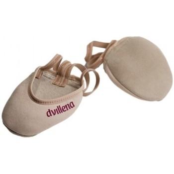 Schuhe Damen Indoorschuhe Dvillena PUNTERAS GIMNASIA RITMICA ELEGANTE Beige