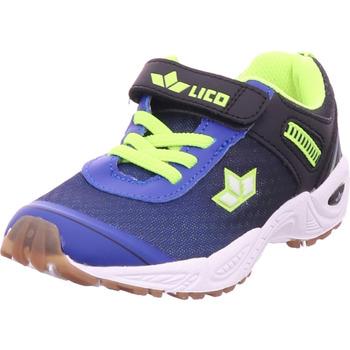 Schuhe Jungen Sneaker Low Bruetting - 360581 blau/schwarz/lemon