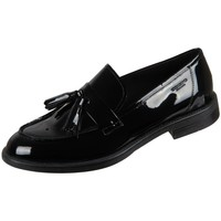 Schuhe Damen Slipper Vagabond Shoemakers Amina Black Lack Schwarz