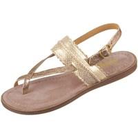 Schuhe Mädchen Sandalen / Sandaletten Bisgaard 719321211128 Golden