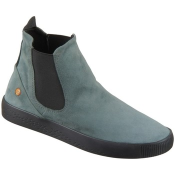 Schuhe Damen Sneaker High Softinos P900608006 Grau