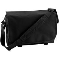 Taschen Jungen Schultasche Bagbase BG21 Schwarz