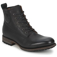 Schuhe Herren Boots Blackstone MID LACE UP BOOT Schwarz