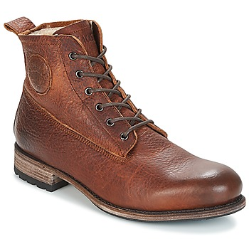 Schuhe Herren Boots Blackstone MID LACE UP BOOT FUR Braun