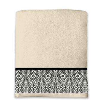 Home Handtuch und Waschlappen Douceur d intérieur ESTEBAN Beige