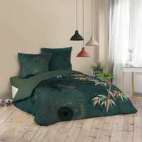 Home Bettwäsche Douceur d intérieur JAPONI Smaragd