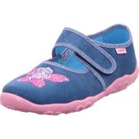Schuhe Kinder Hausschuhe Legero Hausschuh Textil \ BONNY BLAU 8