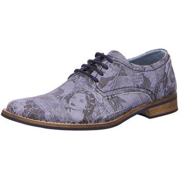 Schuhe Herren Derby-Schuhe & Richelieu Bullboxer Schnuerschuhe 773K23855XP455 blau