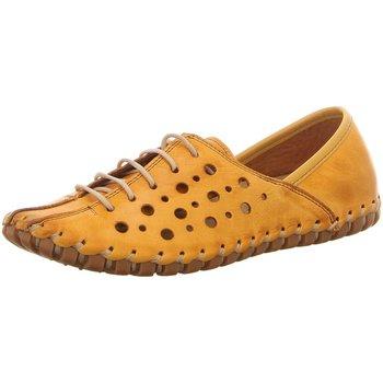 Schuhe Damen Derby-Schuhe & Richelieu Gemini Schnuerschuhe 031210-02/320 gelb