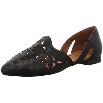 Schuhe Damen Ballerinas Pölking Piazza 830001-01 schwarz