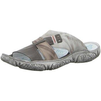 Schuhe Herren Sandalen / Sandaletten Krisbut Offene 1190A-6-1 grau