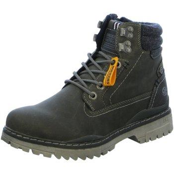 Schuhe Herren Stiefel Dockers by Gerli 47LY001-650-220 grau