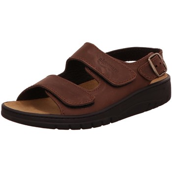 Schuhe Herren Sandalen / Sandaletten Algemare Offene 7619m22 braun