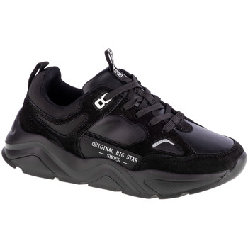 Schuhe Damen Sneaker Low Big Star Shoes Schwarz
