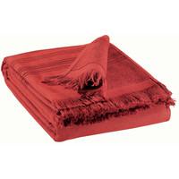 Home Handtuch und Waschlappen Vivaraise CANCUN Rot