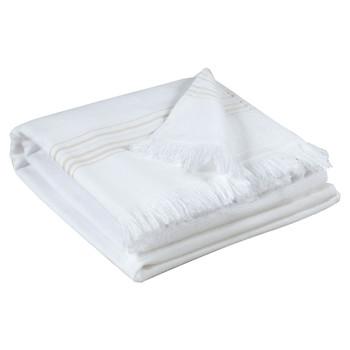 Home Handtuch und Waschlappen Vivaraise CANCUN Weiss