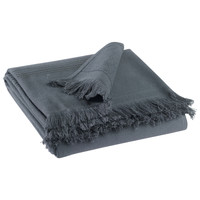 Home Handtuch und Waschlappen Vivaraise CANCUN Grau / Schattig