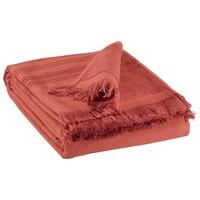 Home Handtuch und Waschlappen Vivaraise CANCUN Tomette