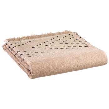 Home Handtuch und Waschlappen Vivaraise JULIA Beige