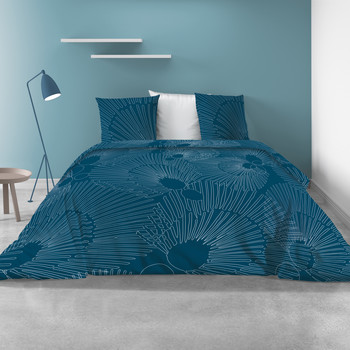 Home Bettwäsche Atelier du Linge BAYOU Blau