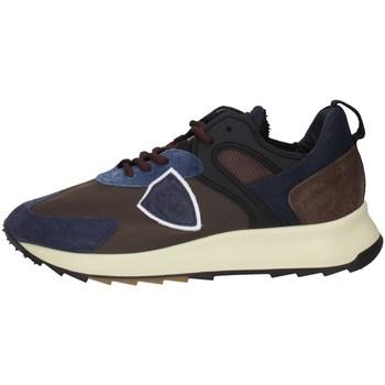 Schuhe Herren Sneaker Low Philippe Model RLLUWI01 Braun