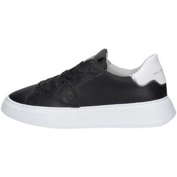 Schuhe Herren Sneaker Low Philippe Model BTLUV002 SCHWARZ