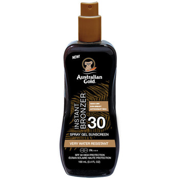 Beauty Sonnenschutz & Sonnenpflege Australian Gold Sunscreen Spf30 Spray Gel With Instant Bronzer