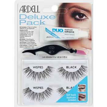 Beauty Damen Mascara  & Wimperntusche Ardell Kit Deluxe Pack Wispies Black Set