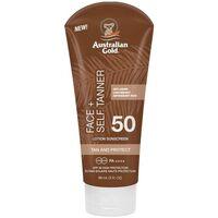 Beauty Sonnenschutz & Sonnenpflege Australian Gold Face Self Tanner Spf50 Sunscreen
