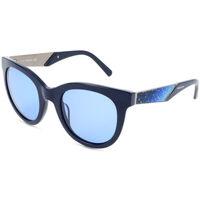 Uhren & Schmuck Damen Sonnenbrillen Swarovski - SK0126 Blau