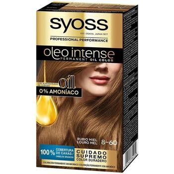 Beauty Damen Haarfärbung Syoss Olio Intense Tinte Sin Amoniaco 8.60-rubio Miel